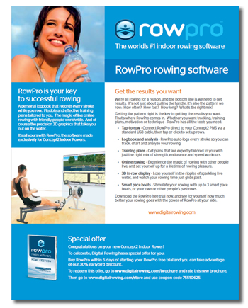 Download new RowPro brochure
